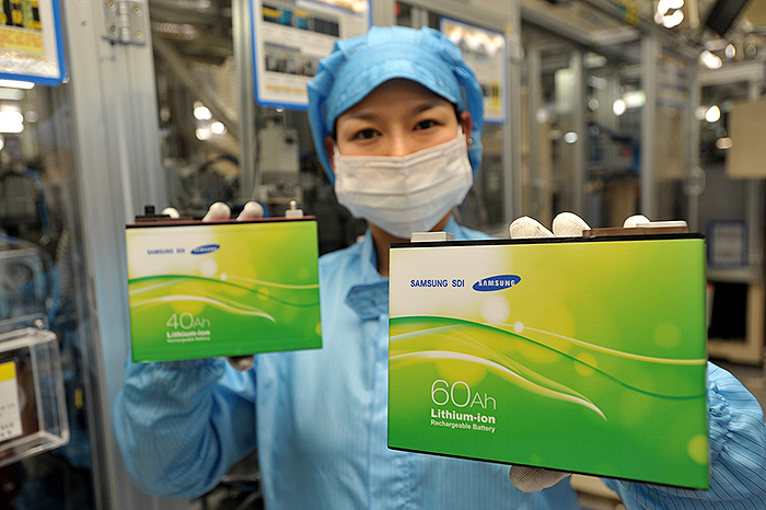 Samsung sdi's automotive battery